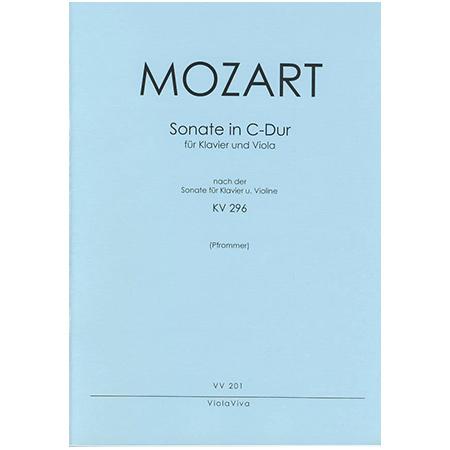 Mozart, W. A.: Violasonate C-Dur nach KV 296