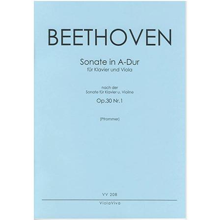 Beethoven, L. v.: Violasonate A-Dur nach Op. 30/1