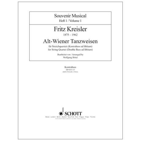 Kreisler, F.: Alt-Wiener Tanzweisen – Kontrabass