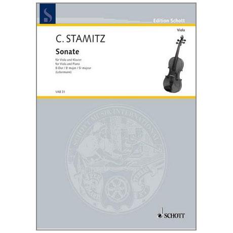Stamitz, C.: Violasonate B-Dur