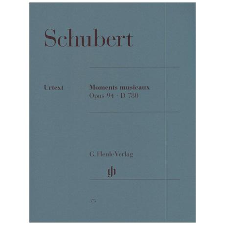 Schubert, F.: Moments musicaux Op. 94 D 780