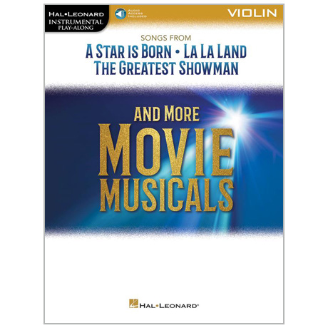 Movie Musicals for Violin (+Online Audio)