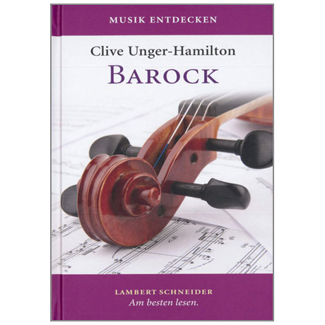Unger-Hamilton, C.: Musik entdecken - Barock (+CD)