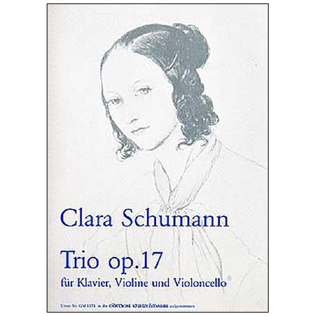 Schumann, C.: Klaviertrio Op. 17 g-Moll