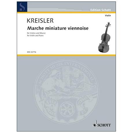 Kreisler, F.: Marche miniature viennoise – erleichtert