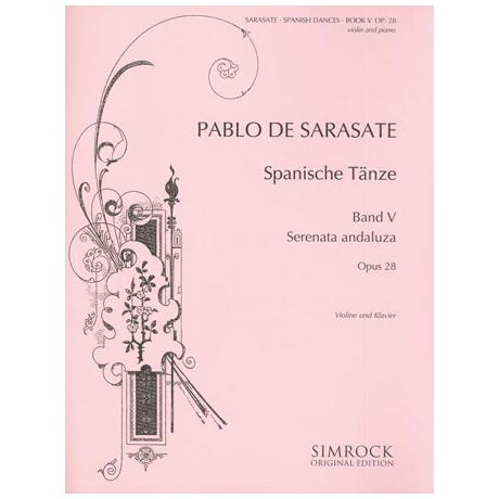 Sarasate, P. d.: Spanische Tänze Band 5