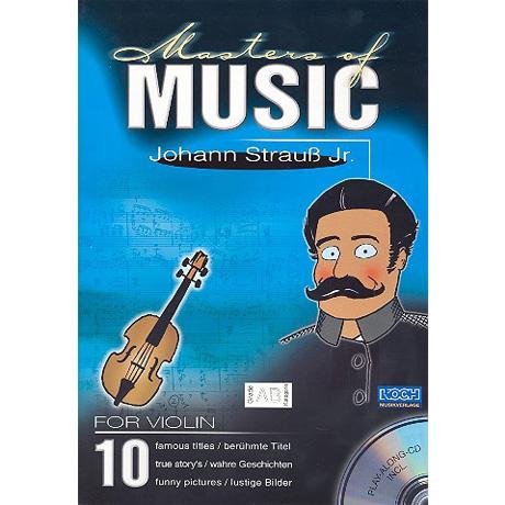 Masters Of Music: Strauß, J.Jr. (+CD)