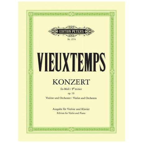 Vieuxtemps, H.: Violinkonzert Nr. 2 Op. 19 fis-Moll
