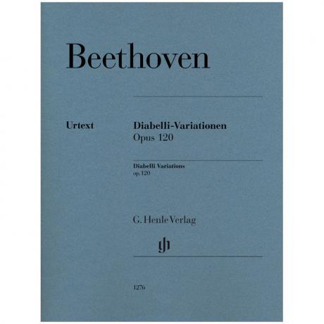 Beethoven, L.v.: Diabelli-Variationen Op. 120