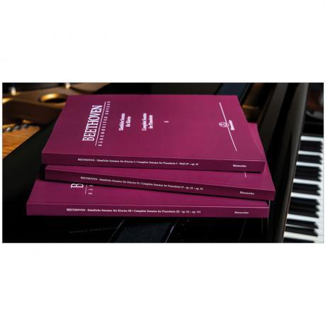 Beethoven, L. v.: Sämtliche Klaviersonaten (Band 1-3)