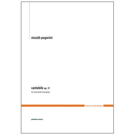 Paganini, N.: Cantabile Op.17
