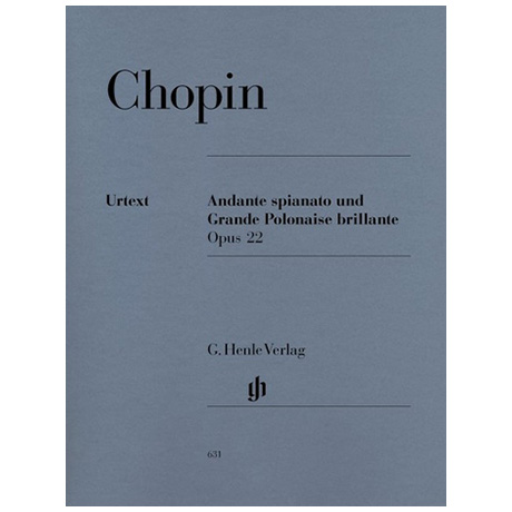 Chopin, F.: Andante spianato und Grande Polonaise brillante Es-Dur Op. 22