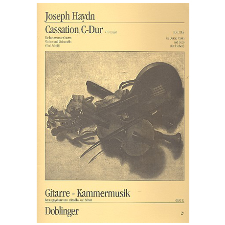 Haydn, J.: Cassation Hob. III:6 C-Dur