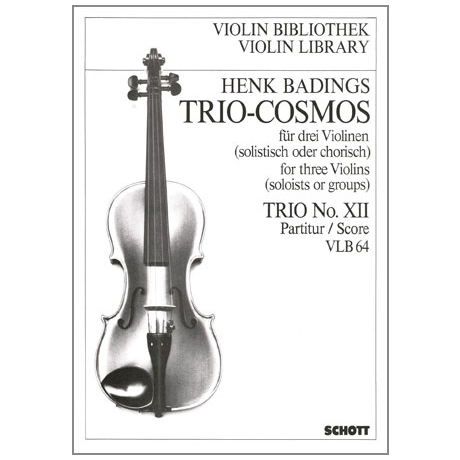 Badings, H. H.: Trio-Cosmos Nr. 12