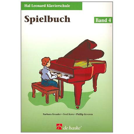Kreader, B: Hal Leonard Klavierschule Band 4 (+CD)