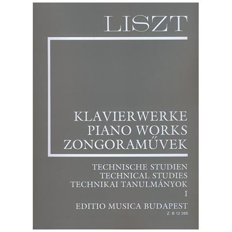 Liszt, F.: Technische Studien Band I