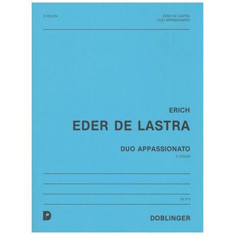 Eder de Lastra, E.: Duo appassionato