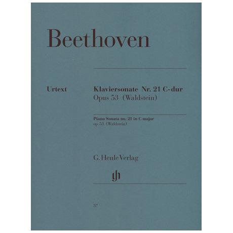 Beethoven, L. v.: Klaviersonate Nr. 21 C-Dur Op. 53 Waldsteinsonate