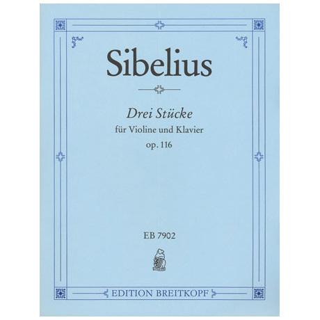 Sibelius, J.: 3 Stücke Op. 116