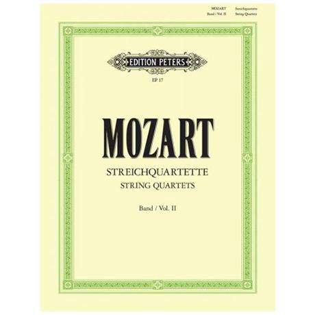 Mozart, W.A.: Streichquartette KV 155-160, 168-173, 285, 298, 370, 525, 546