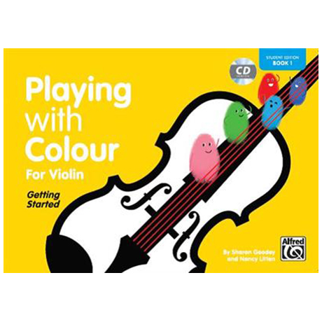 Litten, N./Goodey, S.: Playing With Colour For Violin Vol. 1 (+CD)