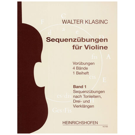 Klasinc, W.: Sequenzübungen Band 1
