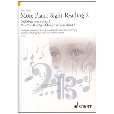 Kember: More Piano Sight-Reading 2 - Neue Vom-Blatt-Spiel Übungen