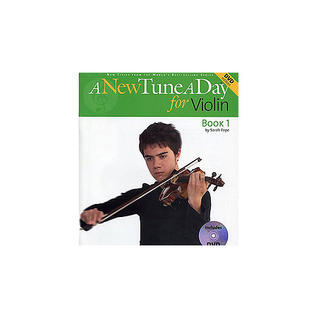 A New Tune a Day: Violin – Book 1 (DVD Edition)