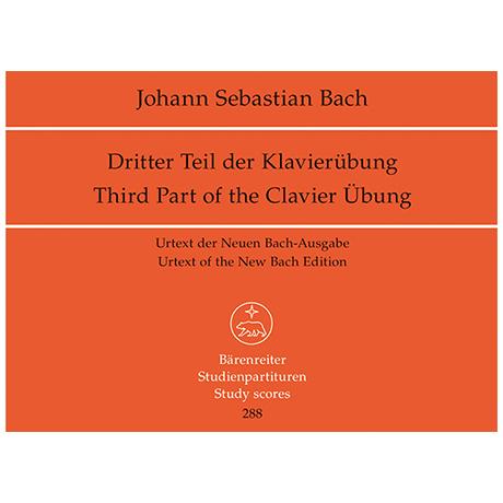 Bach, J. S.: Klavierübung dritter Teil