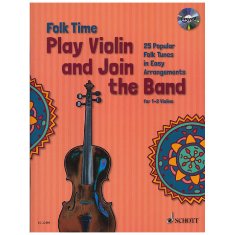 Folk Time – Play Violin and join the Band (+MP3-CD)