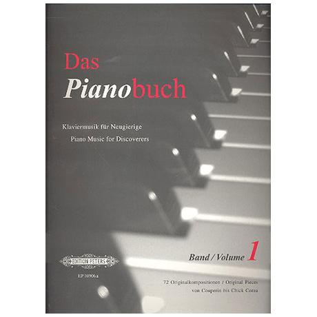 Das Pianobuch Band I - leicht bis mittelschwer