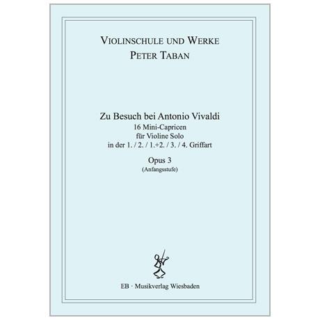Taban, P.: 16 Mini-Capricen Op. 3 »Zu Besuch bei Antonio Vivaldi«