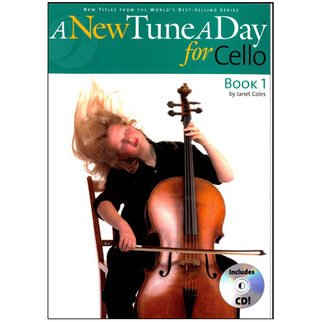 A New Tune A Day: Cello - Book 1 (CD Edition)