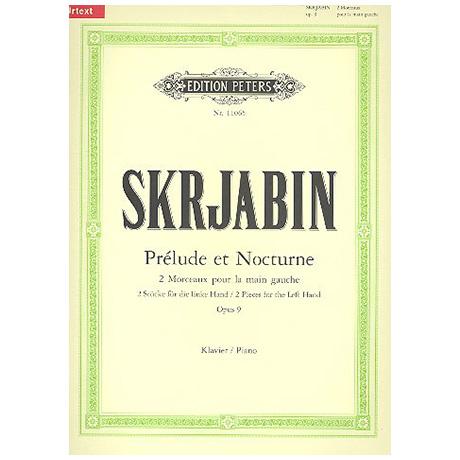 Skrjabin, A.: Prélude und Nocturne Op. 9