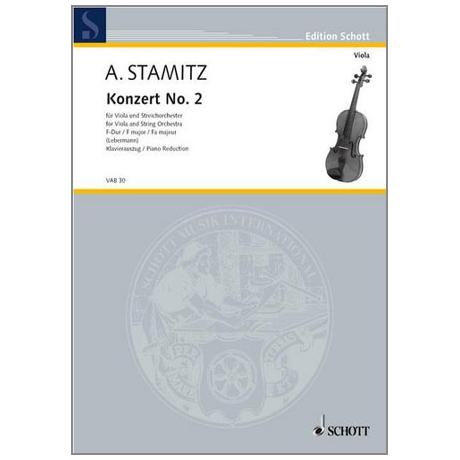Stamitz, A.: Violakonzert Nr. 2 F-Dur