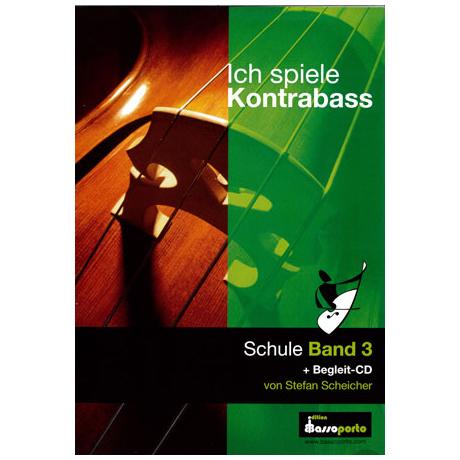 Ich spiele Kontrabass Band 3 (+CD)