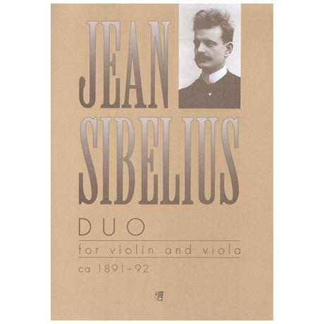 Sibelius, J.: Duo C-Dur