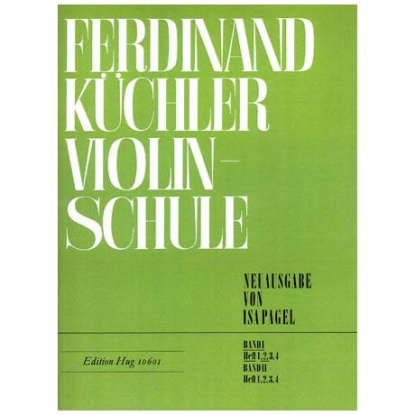 Küchler, F.: Violinschule Band 1 Teil 2
