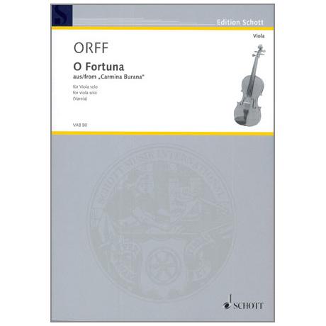 Orff, C.: O Fortuna, aus »Carmina Burana«