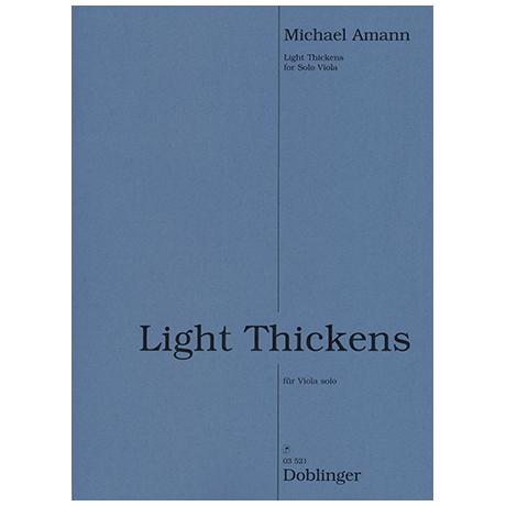 Amann, M.: Light Thickens