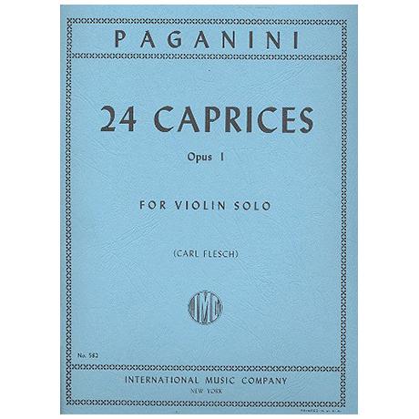 Paganini, N.: 24 Capricen Op. 1 (Flesch)