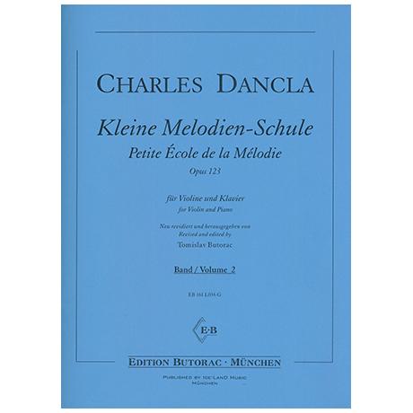 Dancla, J. B. C.: Kleine Melodien-Schule Op. 123 Band 2 - Petite École de la Mélodie