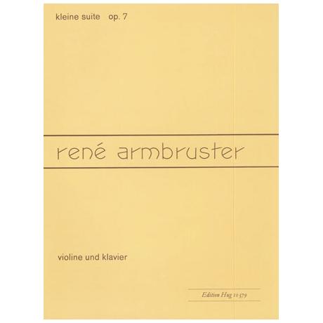 Armbruster, R.: Kleine Suite Op.7