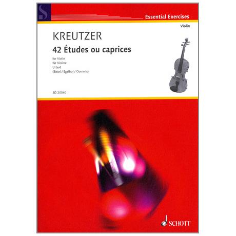 Kreutzer, R.: 42 Etudes ou caprices (Birtel)