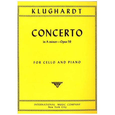 Klughardt, A.: Konzert in a-moll op. 59
