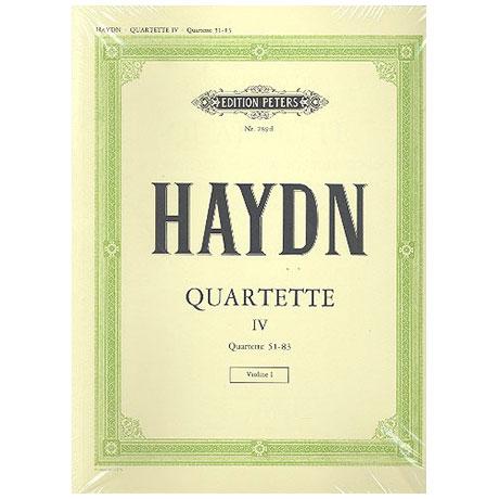 Haydn, J.: Streichquartette Band 4