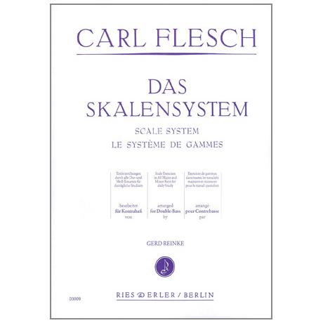 Flesch, C.: Das Skalensystem für Kontrabass