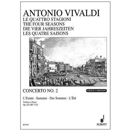 Vivaldi: Die vier Jahreszeiten - Der Sommer