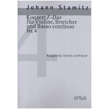 Stamitz, J.: Violinkonzert Nr. 4 F-Dur