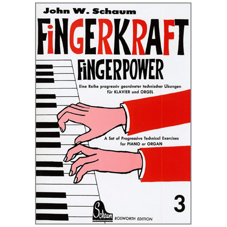 Schaum, J. W.: Fingerkraft Band 3